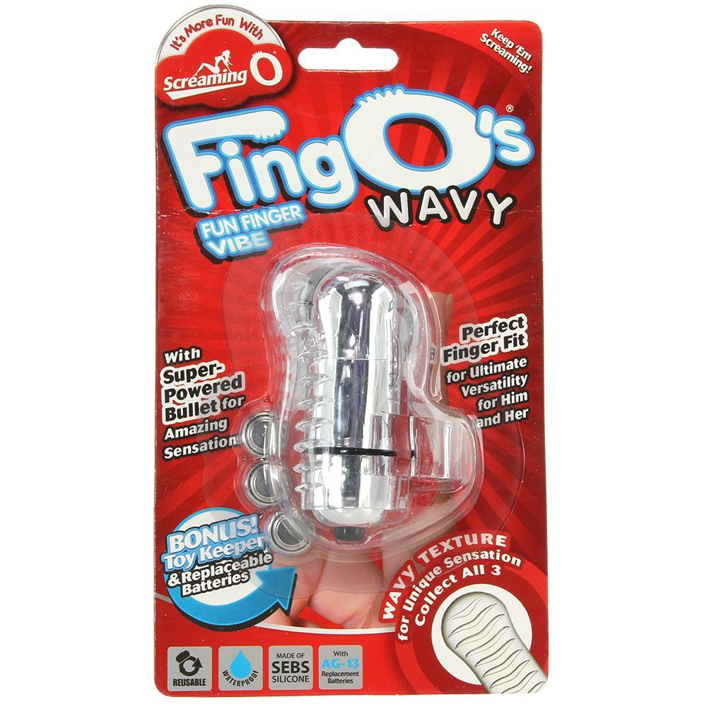 FingO Fun Finger Wavy Vibe in Clear