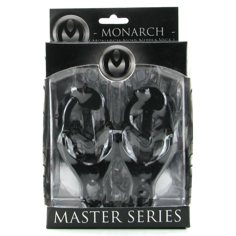 Master Series Monarch Noir Chained Clover Clamps