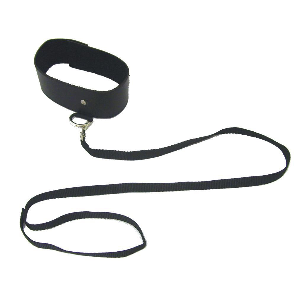 Black Leash and Collar