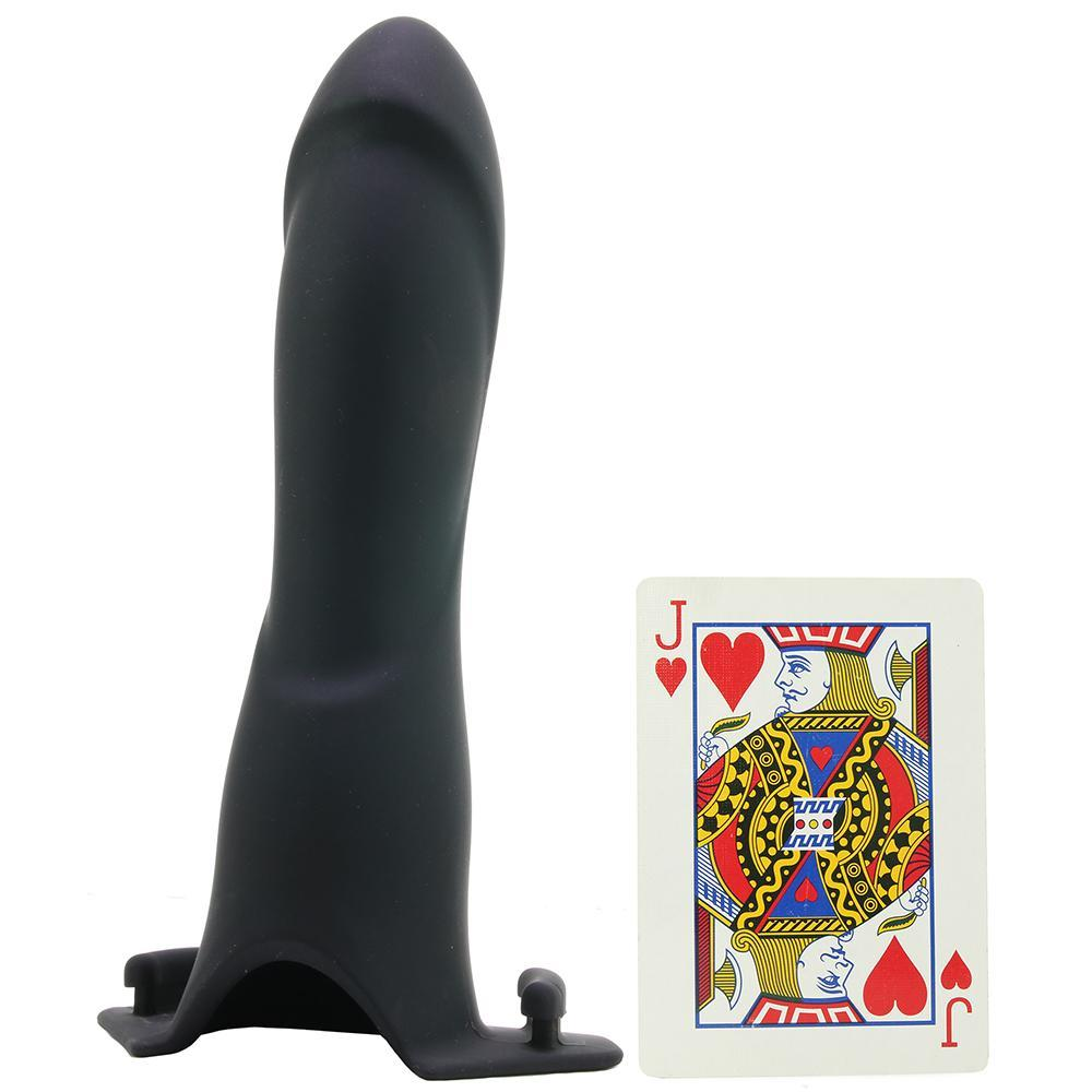 "be in charge Vibrating Hollow Strap-On with 7.5"" Dildo"
