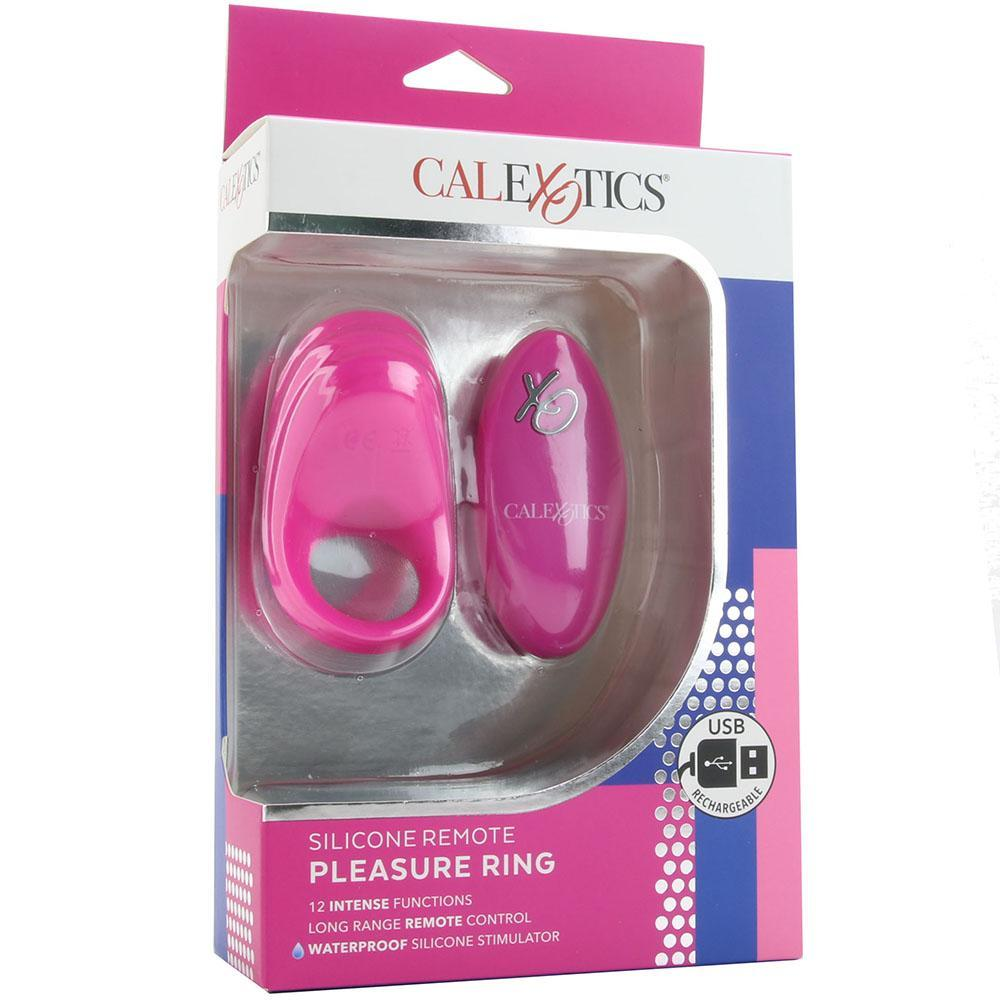 Silicone Remote Pleasure Vibrating Cock Ring