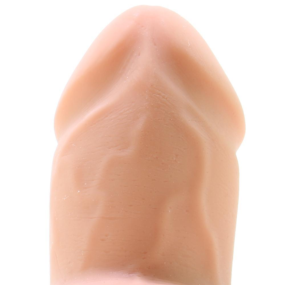 "The Fat D 6"" ULTRASKYN Dildo with Balls in Vanilla"