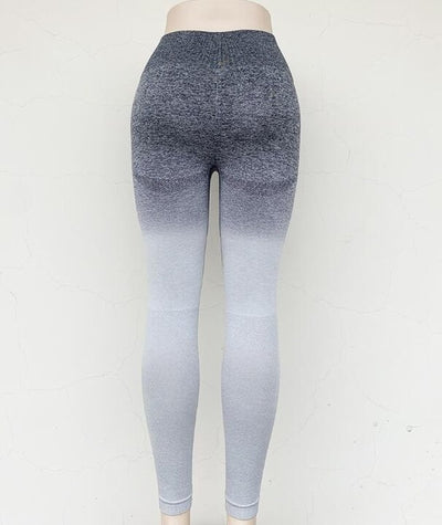 Sport Yoga Gradient Color Energy Legging