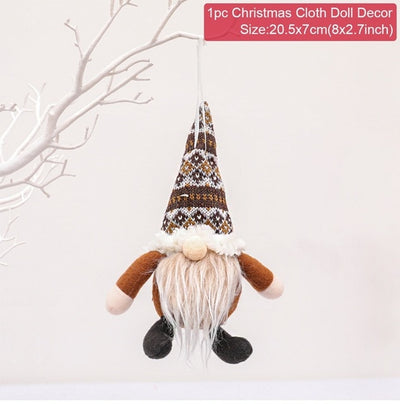 Christmas Faceless Doll