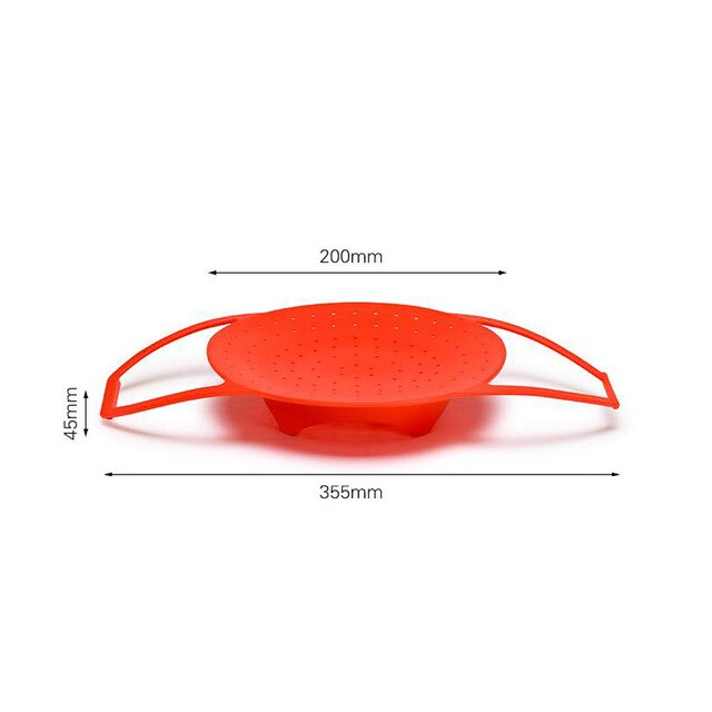 Foldable Silicone Food Steamer