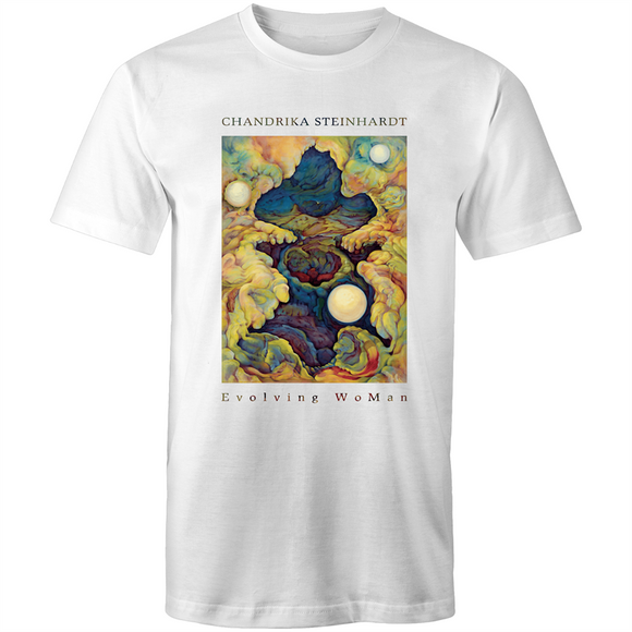 Evolving WoMAN - Valley of The Moon - Men's T-Shirt