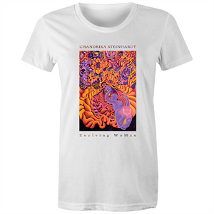 Evolving WoMan - Women's T-Shirt