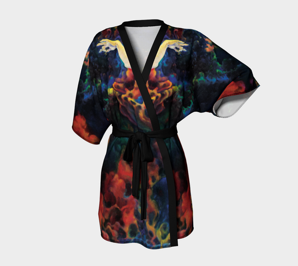 Chandrika Steinhardt - Luxurious Kimono - Peace - The Feminine - Design by Chandrika