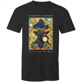 Evolving WoMAN - Valley of The Moon - Men's T-Shirt Dark