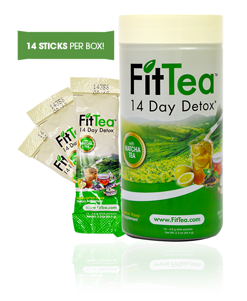 Fit Tea Stick Packs