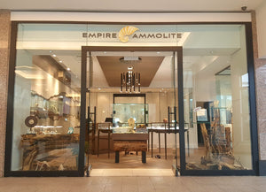 Empire Ammolite Artisan Shop Picture showing location with Jewelry Manufacturing Onsite