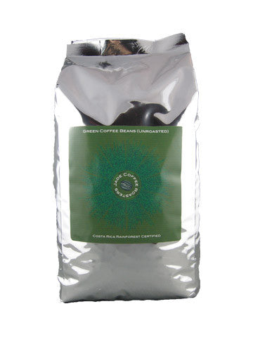 Green Coffee Beans Costa Rica Rainforest Alliance  (Unroasted)