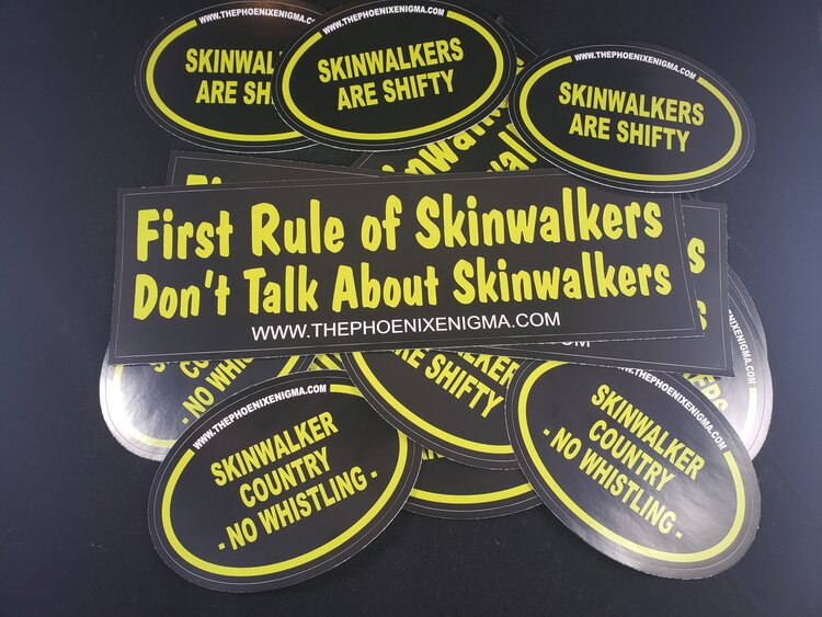 Skinwalker Stickers