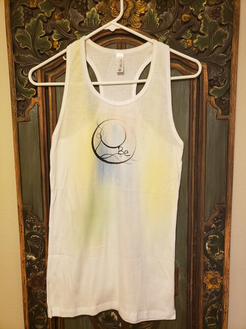 Hand Dyed water Color Tank Top