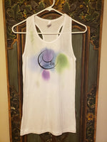 Dyed water Color Tank Top