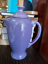 Load image into Gallery viewer, Fiesta Lilac Coffee Server HTF
