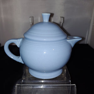 Fiesta 2 cup Teapot Retired Periwinkle Childs Small Fiestaware