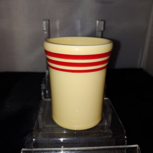 Fiesta HLCCA  Exclusive Retro Red Stripe Juice Tumbler 6 oz