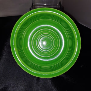 "Vintage Fiesta MEDIUM GREEN FIESTA 4 3/4"" FRUIT BOWL"