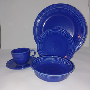 Fiesta 5pc Place Setting Sapphire Limited Edition,