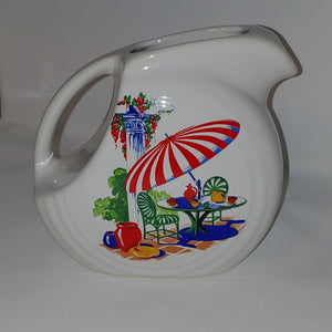 Fiesta Sunporch juice pitcher