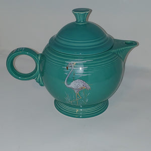 Fiesta China Specialties  Noon Over Miami Teapot