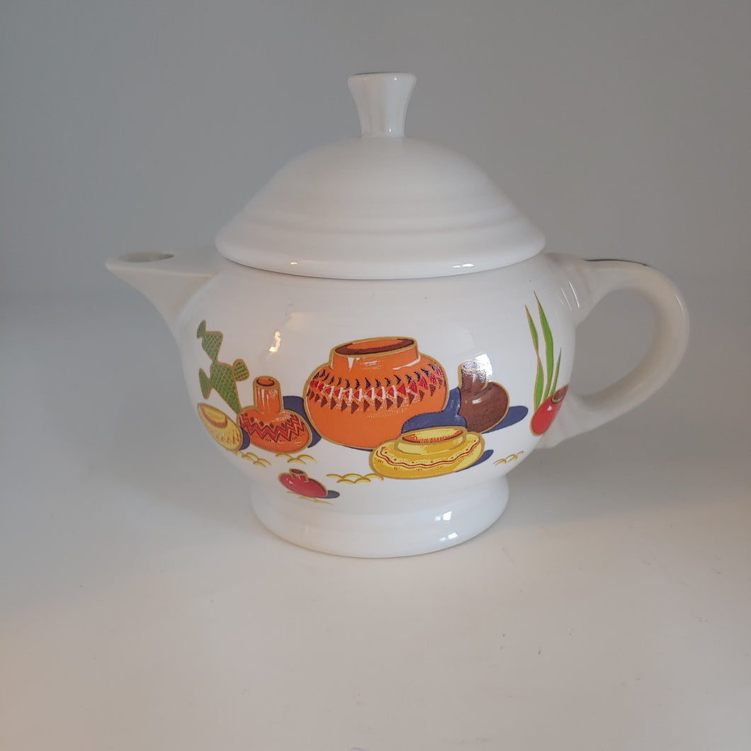 Fiesta 2 Cup Teapot Mexicana China Specialties