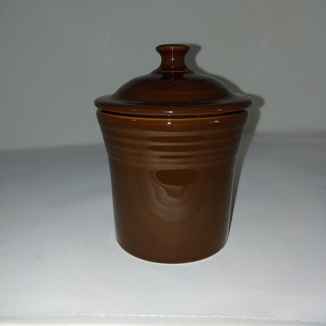 Fiestaware Fiesta Retried  Color Chocolate Jam Jar