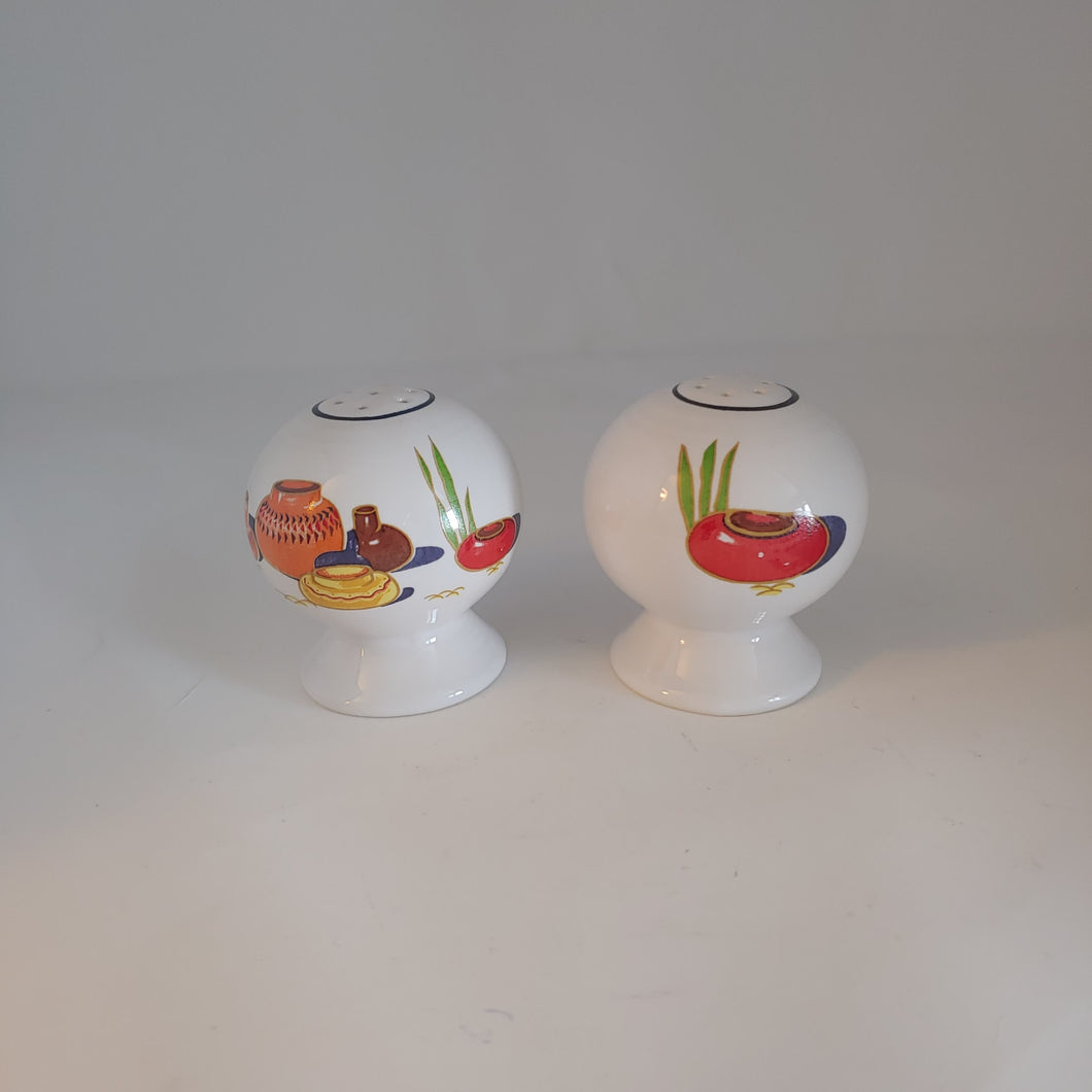Fiesta Mexicana Bulb Salt & Pepper Shaker Set China Specialties