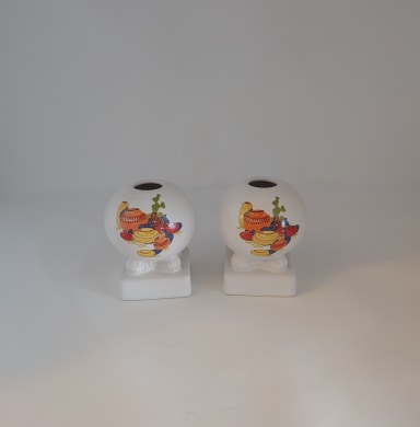 Fiesta China Specialties Bulb Candle Holder Set Mexicana