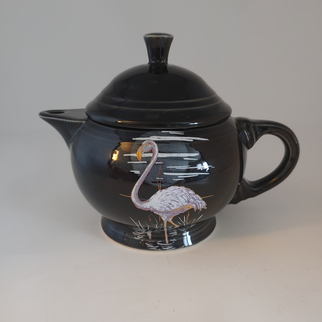 Fiesta Moon Over Miami 2 Cup Teapot Small China Specialties