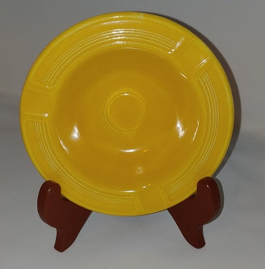 Vintage Fiesta Fiestaware Yellow Ashtray