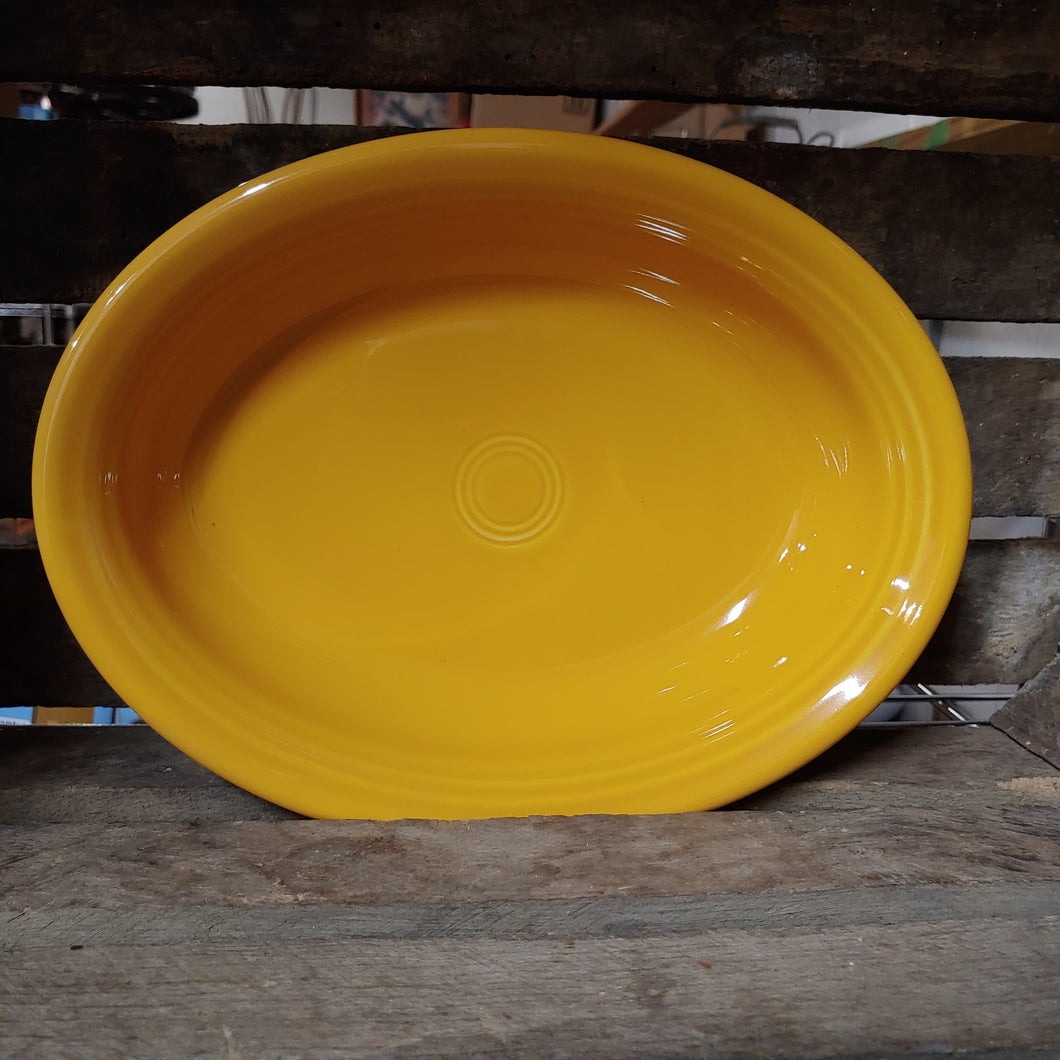 Fiesta® MARIGOLD - Small Oval Bowl - Vegetable Bowl - Discontinued Color
