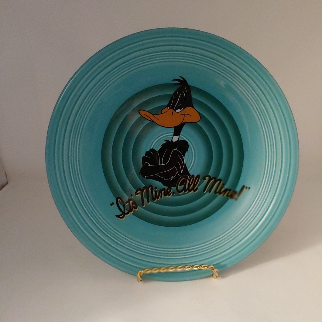 Fiestaware Looney Tunes Daffy Duck Dinner Plate Warner Bros Fiesta Bros It's Mine