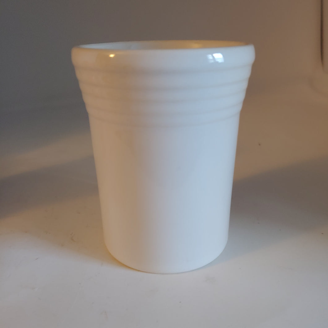 Fiestaware Retired White Tumbler