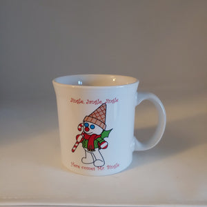 Fiesta Mr Bingle Java Mug 2014 Dillards Exclusive