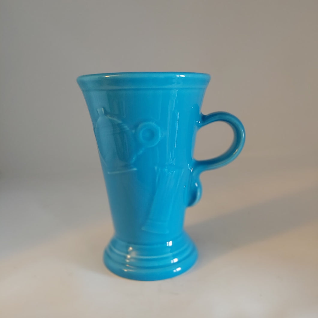 Fiesta Peacock Pedestal Mug Retired