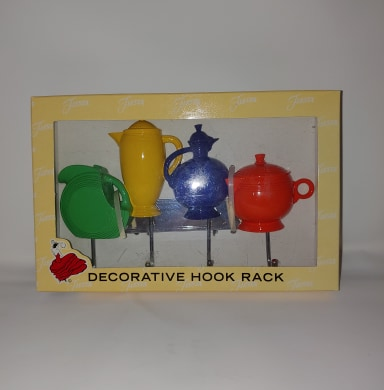 Fiesta Go Along Metal Hook Key Rack Teapot Pitcher Copco Accessory Retired