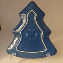 Load image into Gallery viewer, Fiestaware Lapis Tree Plate Fiesta Christmas Holiday Serving Platter
