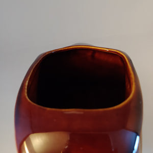 Vintage Fiesta Amberstone by Sheffield/Homer Laughlin Large Disc Pitcher