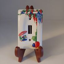 Load image into Gallery viewer, China Specialties SUNPORCH Light Switch Cover