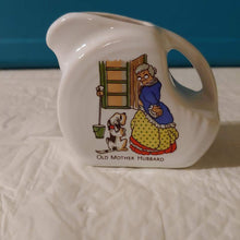 Load image into Gallery viewer, Fiesta Nursery Rhyme Old Mother Hubbard China Specialties Mini Disc  Pitcher