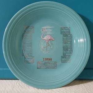 Fiesta Noon Over Miami Calendar Plate 1998