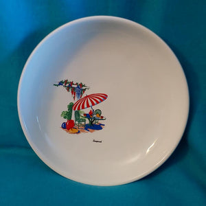 Fiesta Sunporch Presentation Bowl China Specialties