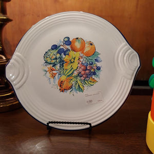 HTF Water Color Hostess Serving Tray