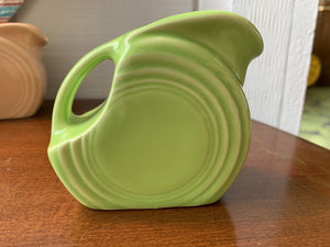 Fiestaware Mini Disc Pitcher - Chartreuse