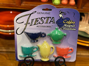 Fiesta Magnets Coffee Magnet Collection Never opened