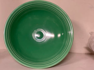"FIESTAWARE VINTAGE FOOTED 12"" COMPORT(COMPOTE) LIGHT GREEN, EXCELLENT CONDITION"