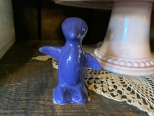 Load image into Gallery viewer, Maverick Animal. Penguin.  Cobalt. China Specialties
