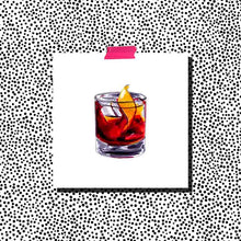 Load image into Gallery viewer, Negroni, Thanks Print